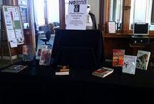 Book Displays / Books on Display at Hackley Public Library