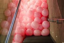 Balloons, Tassels, Lanterns, Oh My / Balloons, tassels, garland and lanterns for party decorations