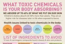 Body / Of the vast majority of the 80,000 ingredients used in body products we absorb, inhale + digest on a daily basis, 89% have never been approved or even reviewed for safety! The best way to steer clear of toxic chemistry is to be a conscious consumer - for your health + the planet's. Read the ingredients lists, trust your brand, + look for verified labels. Buying ethically is a socially + environmentally responsible choice - take a look at some of our top picks! / by Teens Turning Green