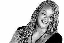 Black & Gray / Black women with gray hair! / by Arlene Walker
