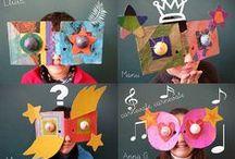 Knutselen met karton / Knutseltips gemaakt van karton en/of papier