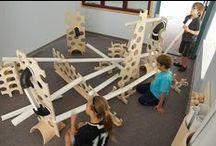 Knikkerbanen en katapulten / Knikkerbanen en katapulten voor kinderen