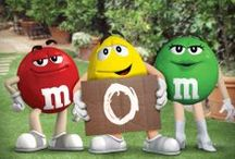 M&M's / I love the M&M characters!