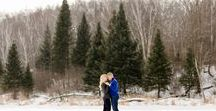 B&C // Winter Engagement Session Inspiration