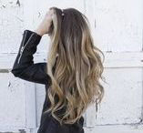 HAIR VIBES / Hair Vibes | balayage + long hair + beachy waves + top knot + braids + hair trends