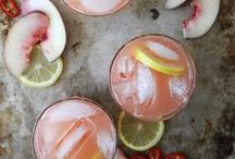 DRINKS / Drinks | drink recipes + alcoholic drinks + nonalcoholic drinks + party + drink menu