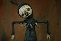 art dolls / by Rhonda Jessop-Kearney