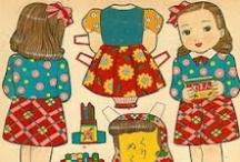 paper dolls / by Rhonda Jessop-Kearney