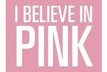 pink / I Believe in Pink... Audrey Hepburn / by Trisha Keller
