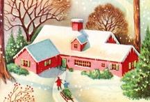 vintage christmas / by Rhonda Jessop-Kearney
