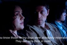 Supernatural / Favorite Characters: Castiel, Dean, Sam, Bobby / by Michelle R