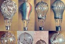 altered light bulbs / by Rhonda Jessop-Kearney