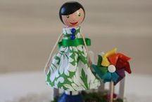 clothespin dolls / by Rhonda Jessop-Kearney