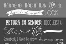 fonts / by Rhonda Jessop-Kearney