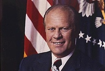 Gerald Ford / Learn more at the Gerald R. Ford Presidential Library and Museum of the U.S. National Archives.  http://www.fordlibrarymuseum.gov/
