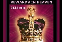"CROWNS AWAITING in HEAVEN / 5 Different Crowns, await the believer in Heaven. Rev 3:11 Jesus says, ""I am coming soon. Hold on to what you have, so that NO ONE WILL TAKE AWAY YOUR CROWN."""