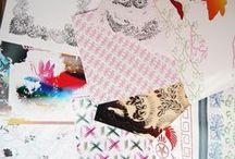 Texture. Inspiration: Sticherei Museum Sant Gallen / by Silvia Gallart Sin