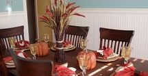 Fall Decorating Ideas and Tips / Fall, autumn, Thanksgiving Decorating Tips and Ideas for your home.