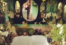 Sacred Jungle Bathroom / my bathroom vision / by Kelly Matthews