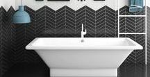 Bathroom Trends / Bathroom Trends and Inspiration collected by Debbie Correale, Redesign Right, LLC.