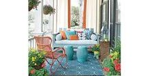 Outdoor Decorating for Deck or Patio / Outdoor decorating ideas for any area of your yard, balcony, deck or patio!