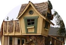 Tree house Design & Inspiration / Interested in creating a tree house of your own or for your kids or grandkids, check out these fabulous ideas!