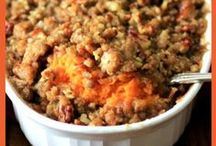 Holiday Side Dishes / Side dishes make the holidays! Here is a perfect collection for any gathering for the holidays! 10 pin per day limit. Vertical images only.