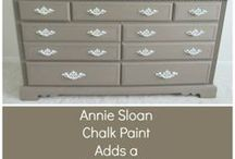 Furniture Transformation / Furniture transformation with paint.