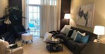 Small Spaces / How to decorate small spaces:  apartments, studio apartments or condos - anything can be beautiful, comfortable, and have a purpose!