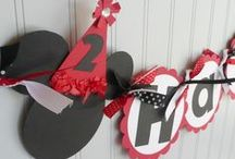 colt. first bday mickey mouse / by Kimberly Provo