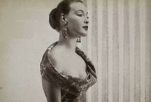 Vintage Glamour / Gorgeous images and fabulous clothes from the 50s and 60s