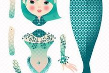 Paper Crafts/ Toys/ Paper Dolls / Printables, Paper Toys & More