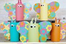 Kids - Crafts / Craft project ideas for kids. / by Jen Goode
