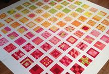 Quilting - Dear Jane and Similar / I call this Dear Jane, but it includes Farmer's Wife and Tula Pink City Samplers