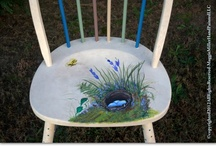 ECO Hand Painted Furniture / Eco Friendly Sustainable  Hand Painted Furniture