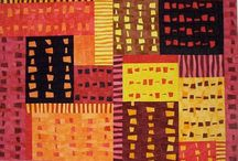 Art - Quilts - Strip Piecing Ideas and Inspiration / by Sharon Robinson