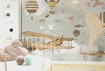 Great kid's rooms and spaces