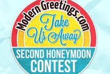 Second Honeymoon Contest / Second Honeymoon Contest - Pin-It-To-Win-It  / by ModernGreetings.com