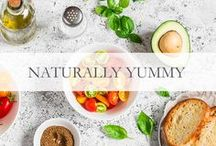 Naturally Yummy / Glowing, healthy skin starts from within! Try some of our favorite healthy recipes!