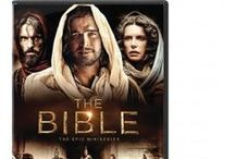 The Bible Mini Series / Get swept up into the adventure, drama and wonder of the Bible with this 10-hour miniseries from Roma Downey (Touched by an Angel) and her husband, producer Mark Burnett (Survivor). Breathtaking in scope and scale, The Bible features powerful performances, exotic locales and dazzling visual effects that breathe spectacular life into the dramatic tales of faith and courage from Genesis through Revelation. / by Family Christian