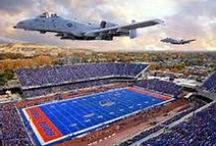 Boise State Broncos! / by Kelley Branstetter