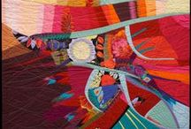 Art - Quilts that use Commercial Prints and Batiks / by Sharon Robinson