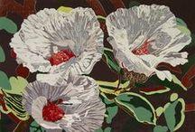 Art - Inspiration - Wood & Lino Cuts