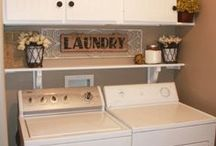 to decorate. laundry room / by Kimberly Provo