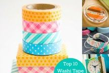Washi wishi board / A collection of all the crazy fun stuff you can get up to with the humble washi tape.