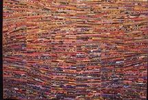 Art Quilts - Artists in Quilt National 2015 / Note - these are not all the actual pieces in QN15, that is top secret until the opening.  I first pinned other works by the same artists.  After the opening on May 22, I pinned the featured winners from the Dairy Barn Website.