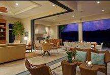 Tropical Retreat - RLH Studio / RLH Studio presents this Tuscan style home with a modern twist. #RLHStudio Website: rlhstudio.com  Phone: 612-367-8215