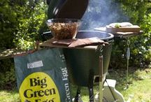 Big Green Egg Barbecues / We are so excited about the Big Green Egg.  Not just a barbecue, a complete outdoor cooking experience.  Available for immediate delivery.