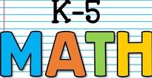 K-5 Math / This is a collaborative board for K-5 math lessons, ideas and activities.  You may pin up to 10 varied pins per day which are blog posts, ideas, free products or paid products.  Accepting new collaborators!  Please email sherri.thetechiechick@gmail.com if you are interested in collaborating.