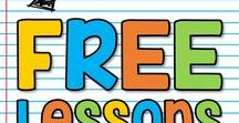 K-5 FREE Lessons / This is a collaborative board for K-5 FREE lessons, ideas and activities. You may pin up to 10 varied pins per day which are blog posts, ideas, free products or paid products. Accepting new collaborators! Please email sherri.thetechiechick@gmail.com if you are interested in collaborating.